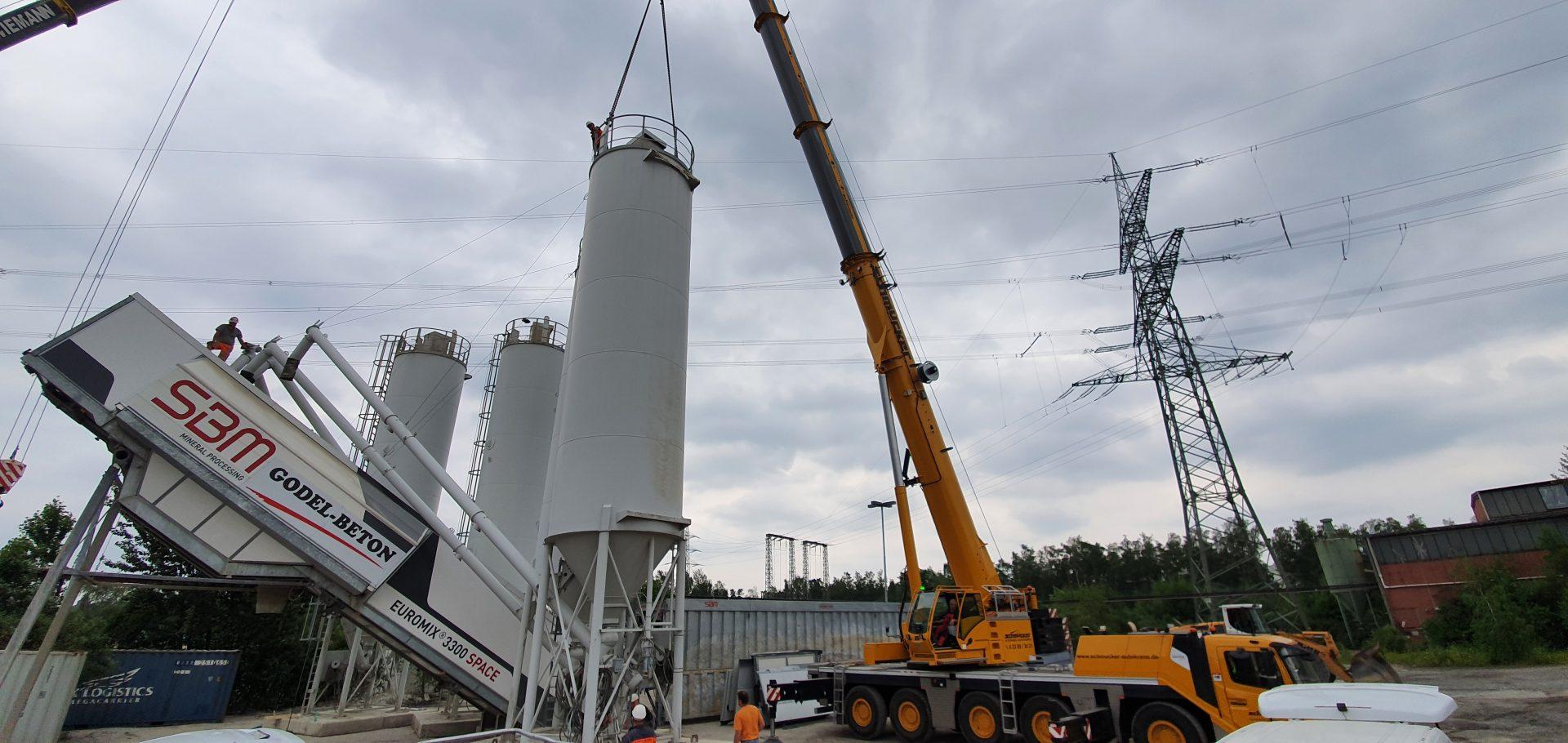 Anlagenversetzung - Gelsenkirchen 150t Autokran
